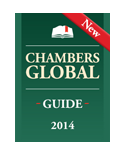 Cadwalader Attorneys, Practices Recognized by 2014 Chambers Global Guide