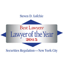 Steven Lofchie Recognized by Best Lawyers as New York Lawyer of the Year for Securities Regulation