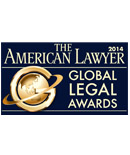Cadwalader Recognized by The American Lawyer With Two 2014 Global Legal Awards