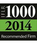 Cadwalader Again Recognized Among Legal Leaders by IFLR 1000