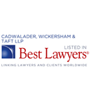 Cadwalader Recognized in 2016 Edition of The Best Lawyers in America