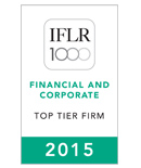 Cadwalader Recognized Among Leading Law Firms in 2015 Edition of IFLR 1000