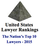 Cadwalader Partners Christopher Hughes and David Miller Retain Top Spots in 2015 U.S. Lawyer Rankings